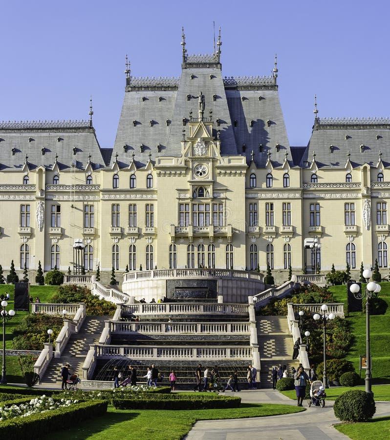 Palacio de la cultura Iasi Rumania fotos de archivo libres de regalías