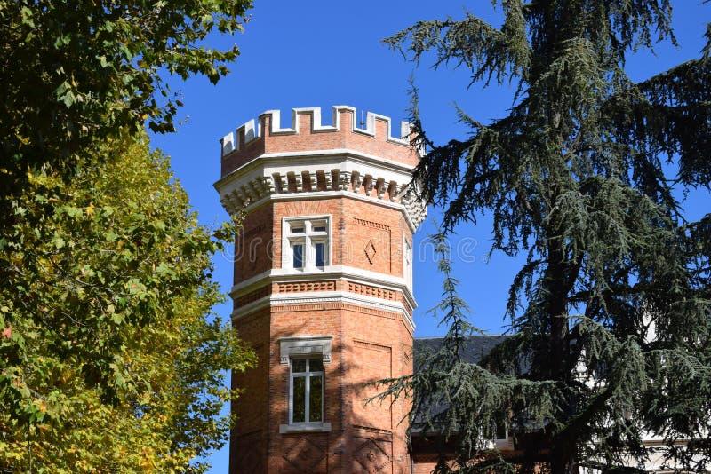 Palacio de la isla, Burgos fotos de archivo