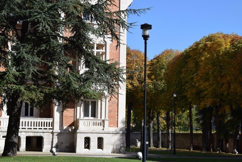 Palacio de la isla, Burgos fotos de archivo libres de regalías