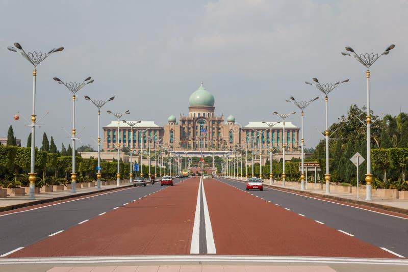 Palacio de la justicia en Putrajaya imagen de archivo