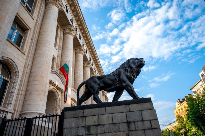 Palacio de la justicia en Sofía fotografía de archivo libre de regalías