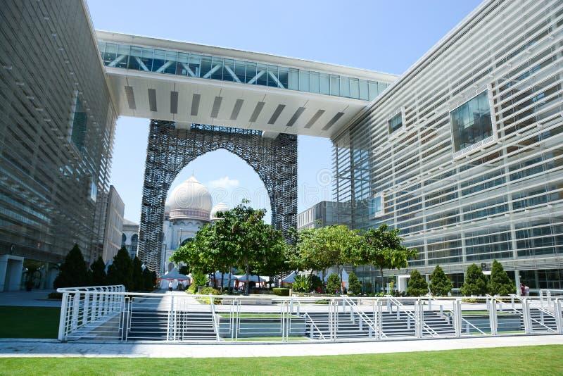 Palacio de la justicia, Putrajaya, Malasia imagen de archivo libre de regalías