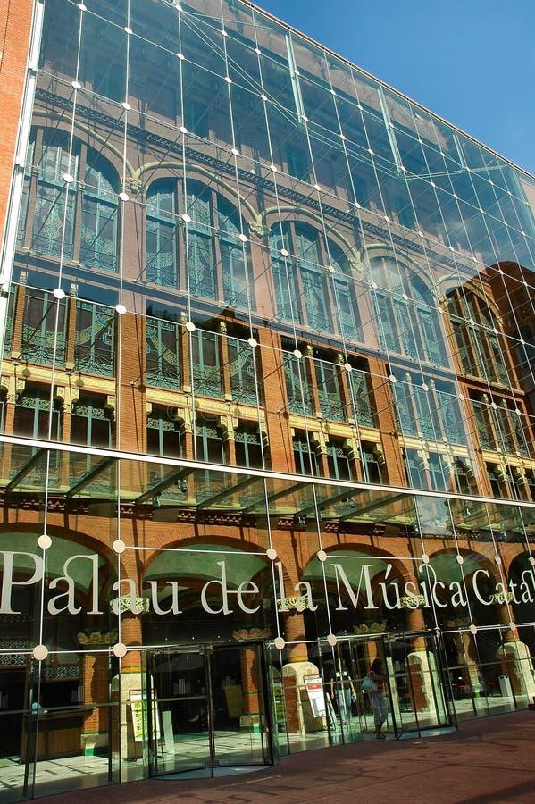 Palacio de la música fotografía de archivo libre de regalías