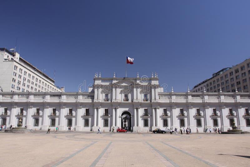 Palacio DE La Moneda royalty-vrije stock afbeeldingen