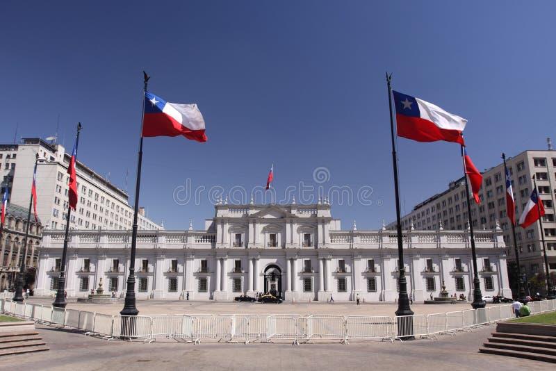 Palacio DE La Moneda stock fotografie