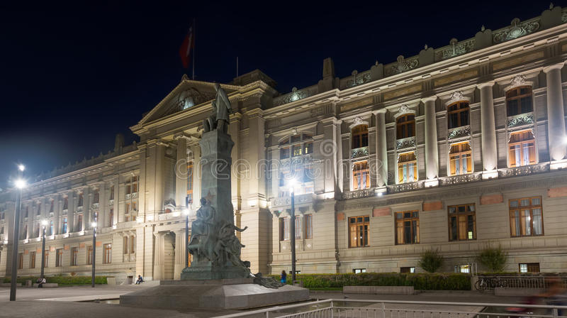 Palacio de La Moneda imagenes de archivo
