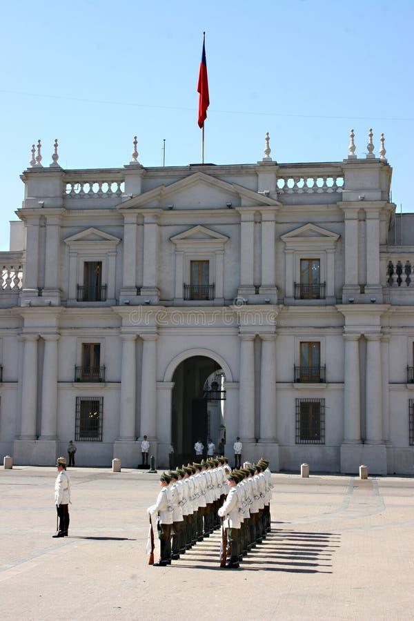 Palacio DE La Moneda Santiago royalty-vrije stock foto