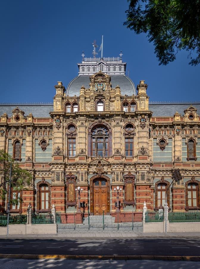 Palacio de las Aguas Corrientes , Water Company Palace - Buenos Aires, Argentina stock photo