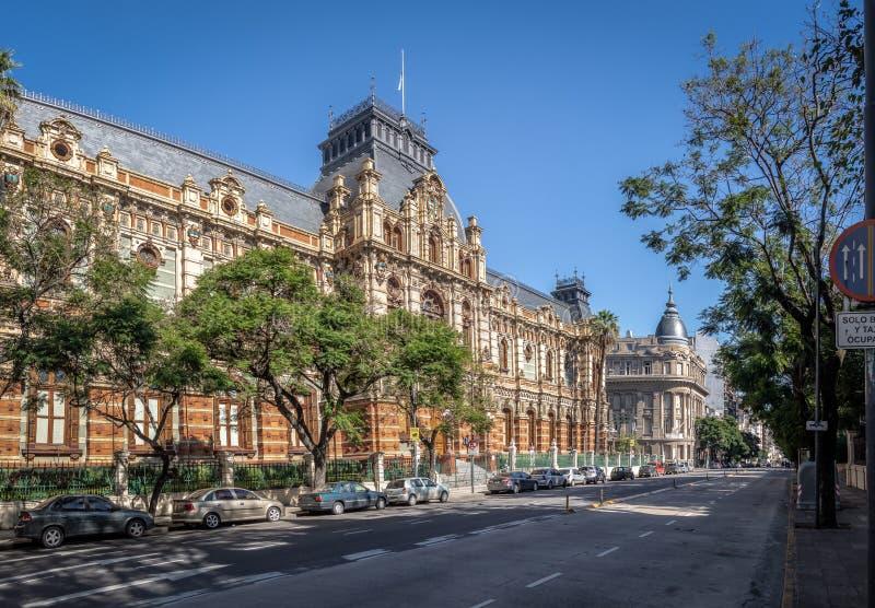 Palacio de las Aguas Corrientes , Water Company Palace - Buenos Aires, Argentina stock image