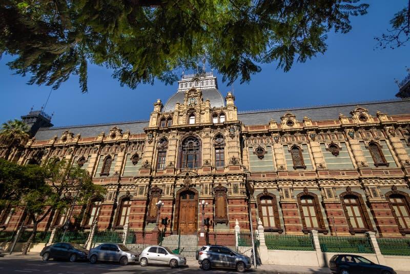 Palacio de las Aguas Corrientes , Water Company Palace - Buenos Aires, Argentina stock photos