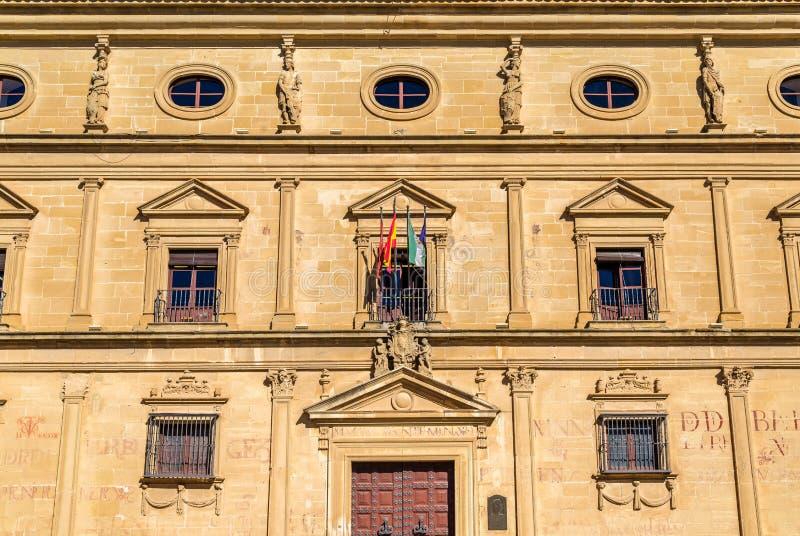 Palacio De Las Cadenas w Ubeda, Hiszpania zdjęcia royalty free