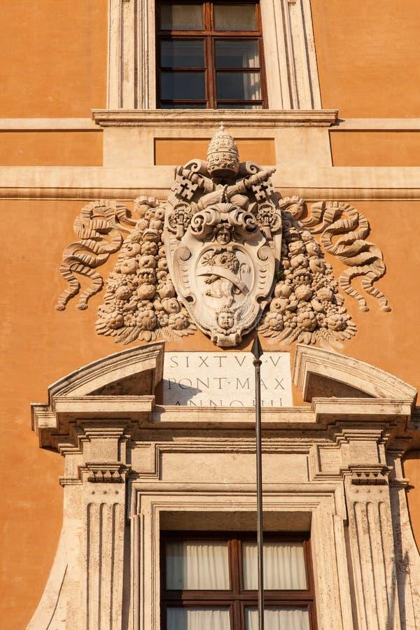 Palacio de Lateran foto de archivo