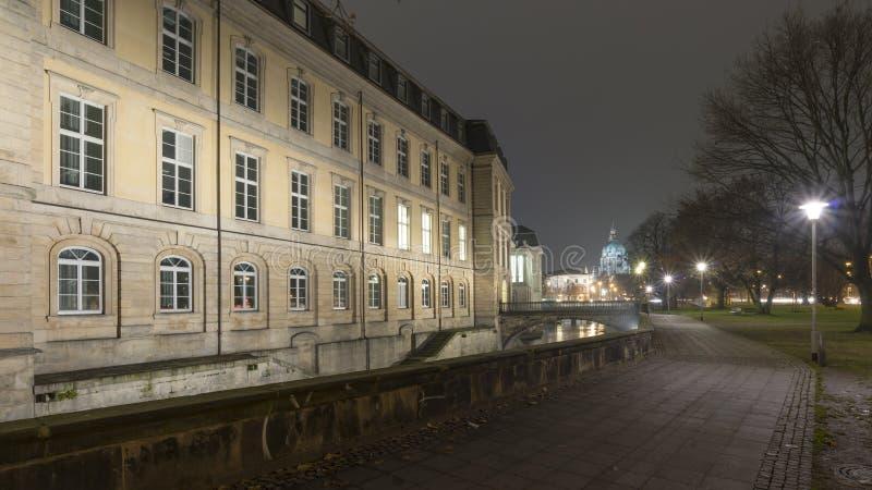Palacio de Leine en Hannover, Alemania foto de archivo