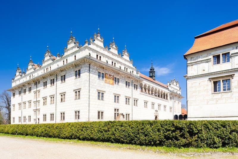 Palacio de Litomysl imagen de archivo libre de regalías