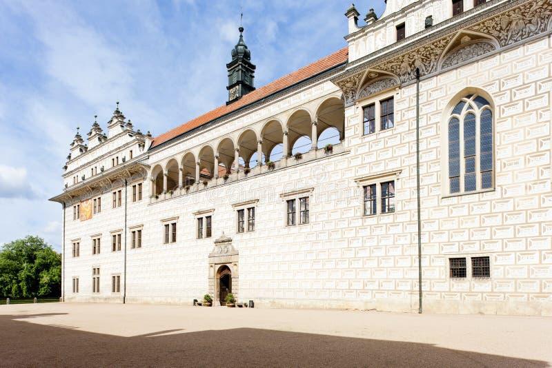 Palacio de Litomysl fotos de archivo libres de regalías