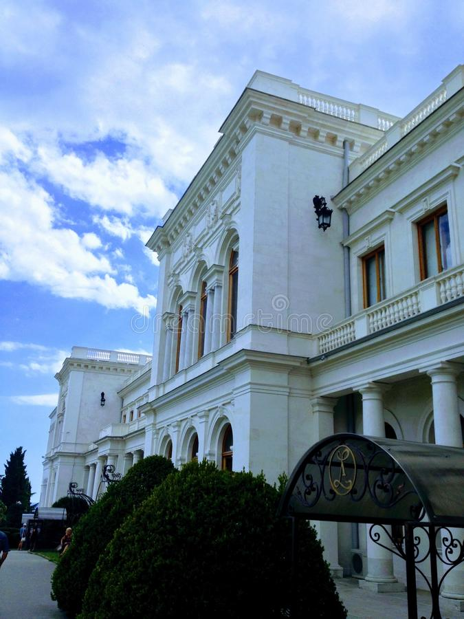 Palacio de Livadia foto de archivo libre de regalías
