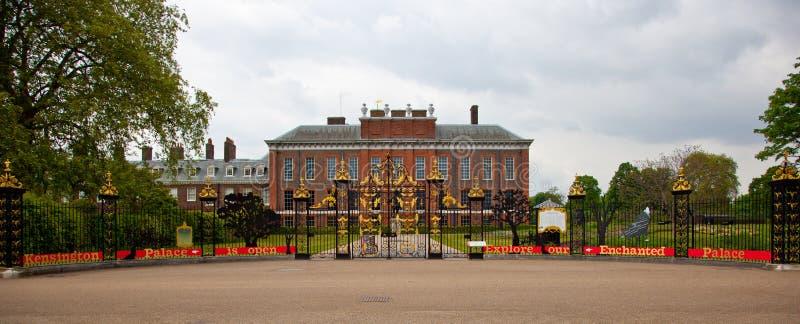 Palacio de Londres Kensington foto de archivo