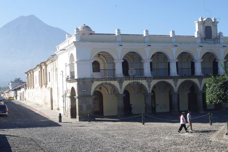 Palacio de los Capitanes royaltyfria foton
