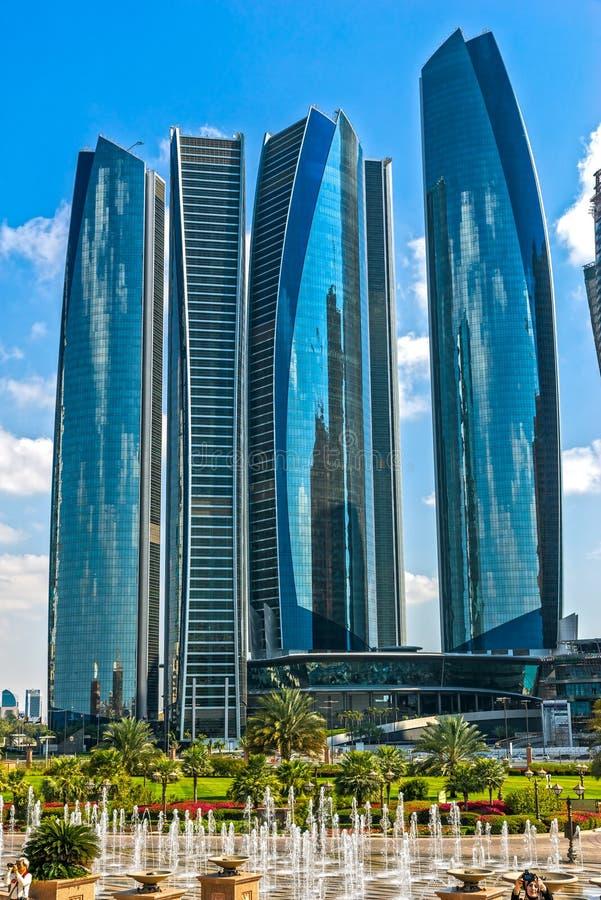 Palacio de los emiratos, Abu Dhabi, United Arab Emirates imagen de archivo libre de regalías