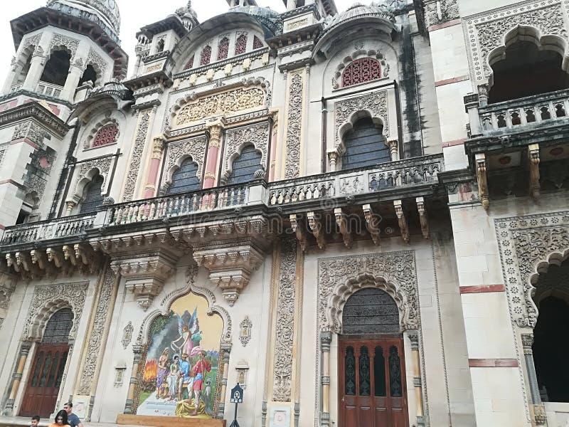 Palacio de los Maharajáes en la India imagenes de archivo