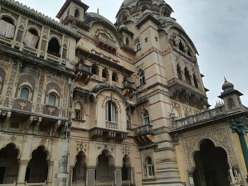 Palacio de los Maharajáes en la India fotografía de archivo