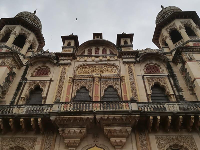 Palacio de los Maharajáes en la India imagen de archivo