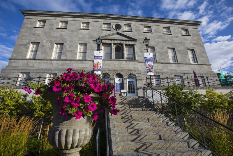 Palacio de los obispos en Waterford foto de archivo libre de regalías