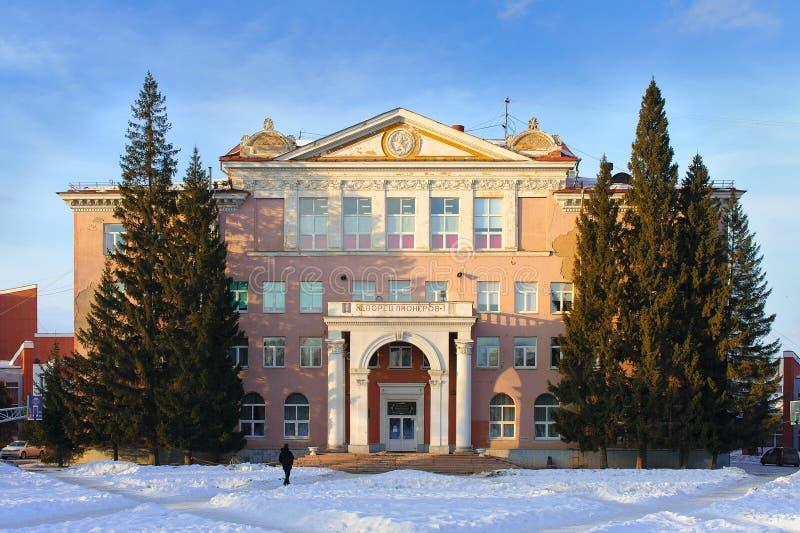 Palacio de los pioneros y de los alumnos nombrados después de N K Krupskaya fotos de archivo