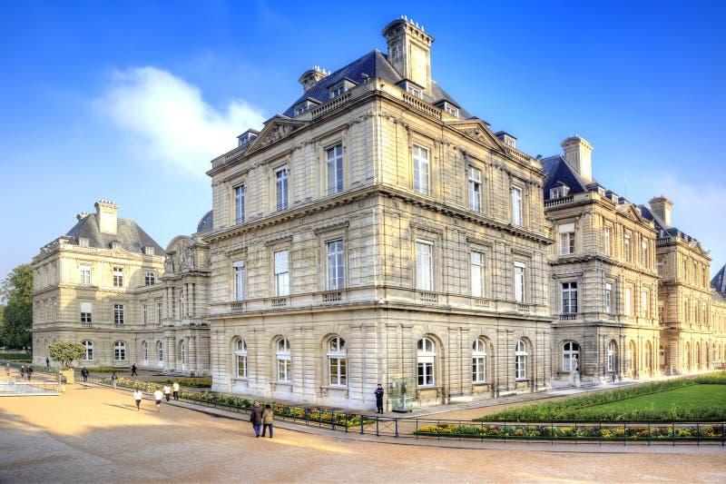 Palacio de Luxemburgo Senado francés fotografía de archivo libre de regalías