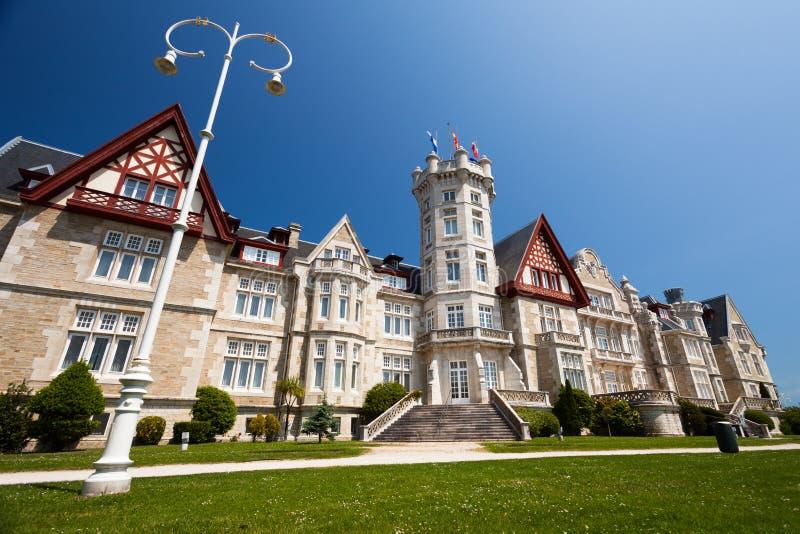 Palacio de Magdalena en Santander, Cantabria foto de archivo libre de regalías