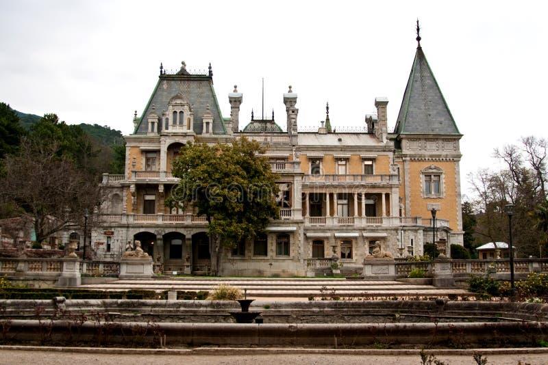 Palacio de Massandra imagen de archivo libre de regalías