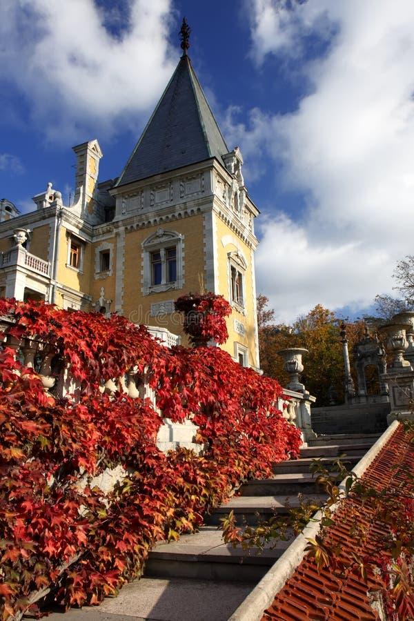 Palacio de Massandra foto de archivo libre de regalías