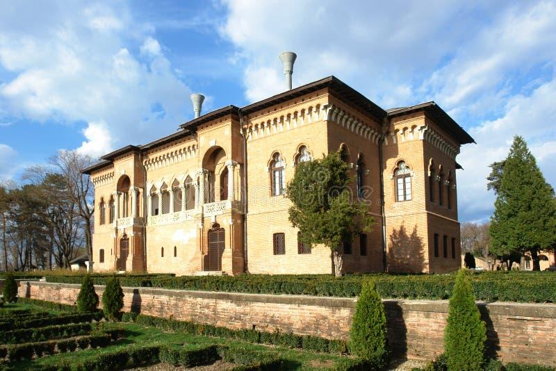 Palacio de Mogosoaia imagen de archivo libre de regalías