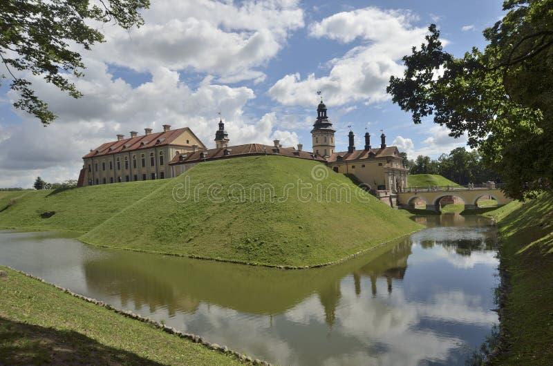 Palacio de Nesvizh en Bielorrusia fotografía de archivo libre de regalías