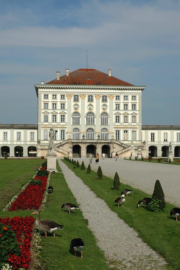 Palacio de Nymphenburg en Munich foto de archivo