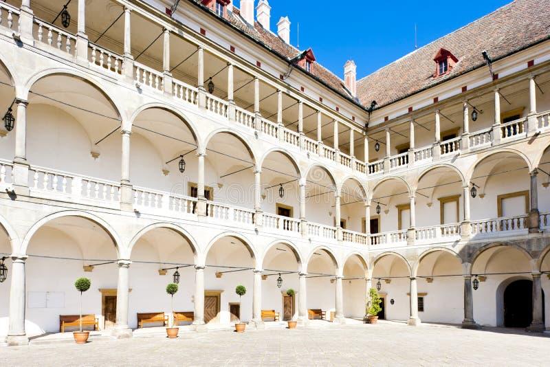Palacio de Opocno imagenes de archivo