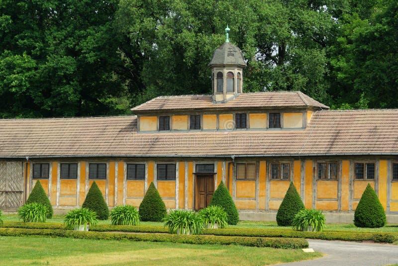 Palacio de Oranienbaum foto de archivo