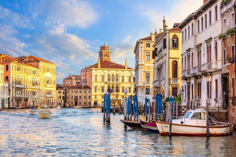 Palacio de Palazzo Balbi y la universidad de la opinión de Venecia del fotos de archivo