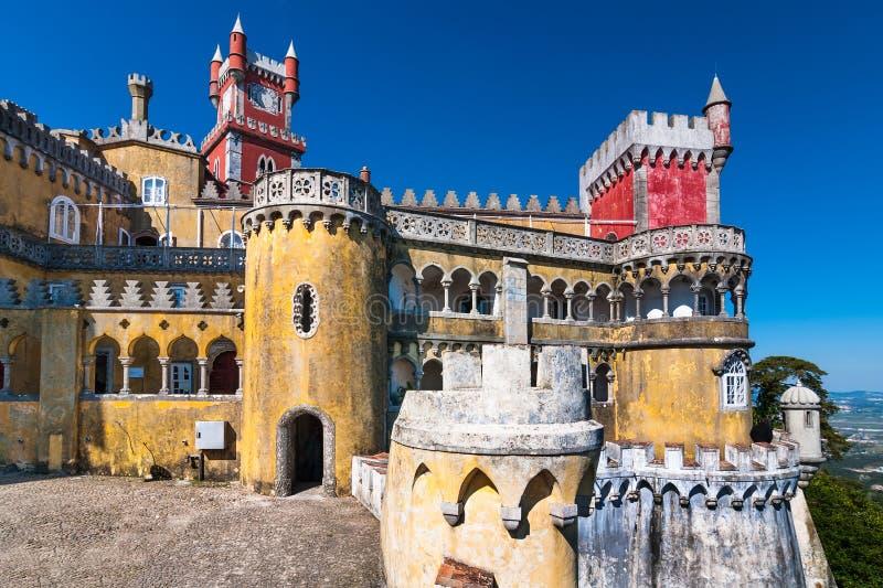 Palacio de Pena, Sintra fotografía de archivo libre de regalías