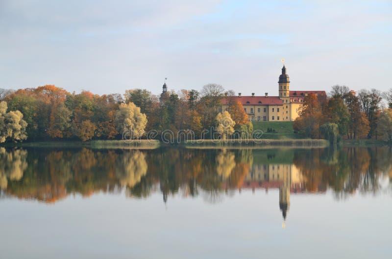 Palacio de Radziwill en Nesvizh foto de archivo