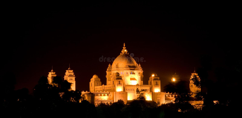 Palacio de Rajhastan foto de archivo libre de regalías