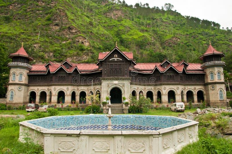 Palacio de Rampur Padam foto de archivo