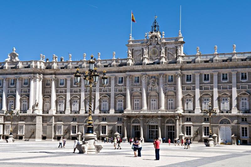 Palacio de real stock images