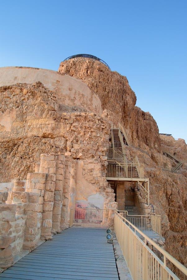 Palacio de rey Herod fotografía de archivo libre de regalías