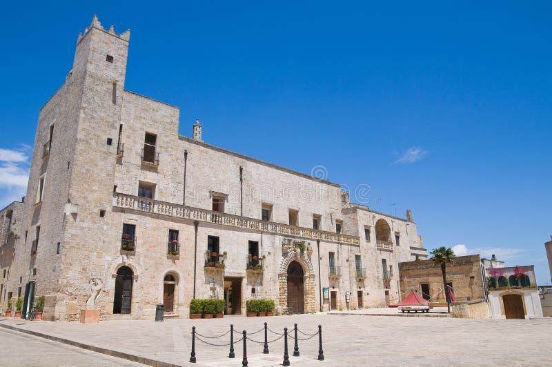 Palacio de Risolo. Specchia. Puglia. Italia. fotografía de archivo