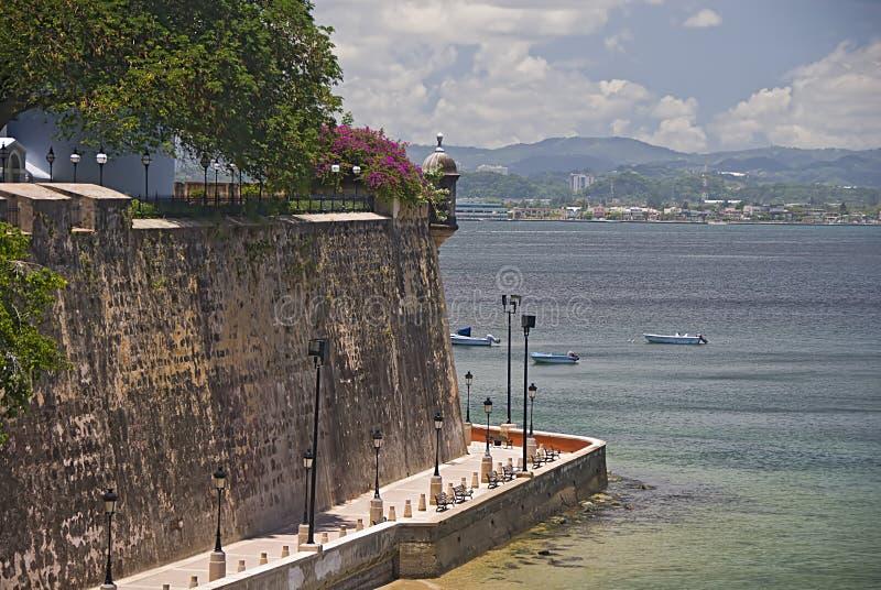 Palacio de Santa Catalina, San Juan imagen de archivo libre de regalías