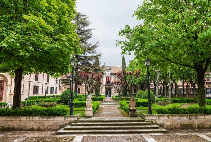 Palacio DE Santa Cruz van de Universiteit van Valladolid royalty-vrije stock foto