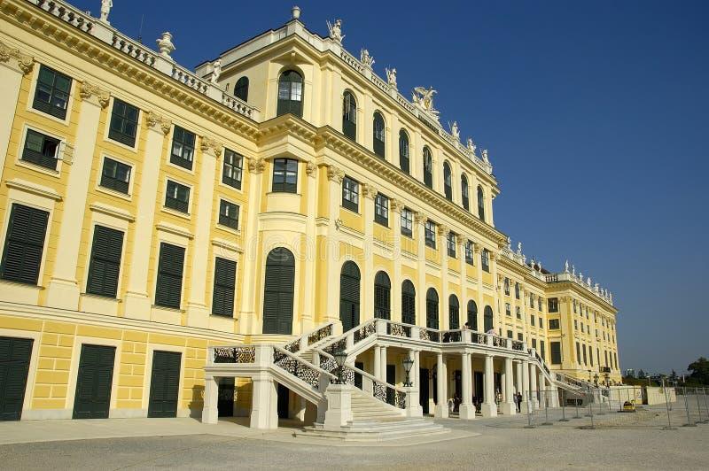 Palacio de Schonbrun imagenes de archivo