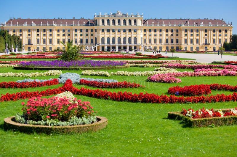 Palacio de Schonbrunn imagen de archivo