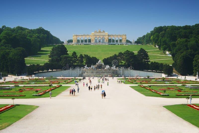 Palacio de Schonbrunn en Viena, Austria fotos de archivo libres de regalías